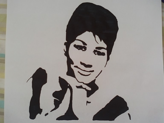Portrait Of Aretha Franklin By Dpyott On Stars Portraits